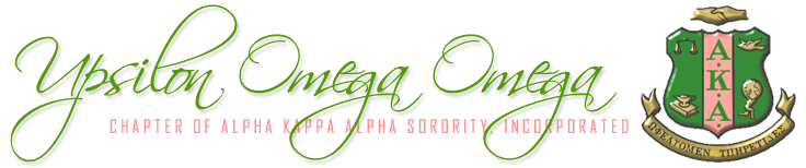 Upsilon Omega Omega Chapter of Alpha Kappa Alpha Sorority, Inc.