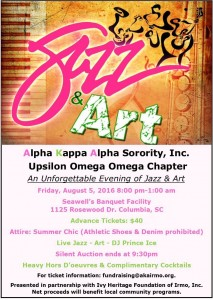 Jazz & Art @ Seawell's Banquet Facility | Columbia | South Carolina | United States