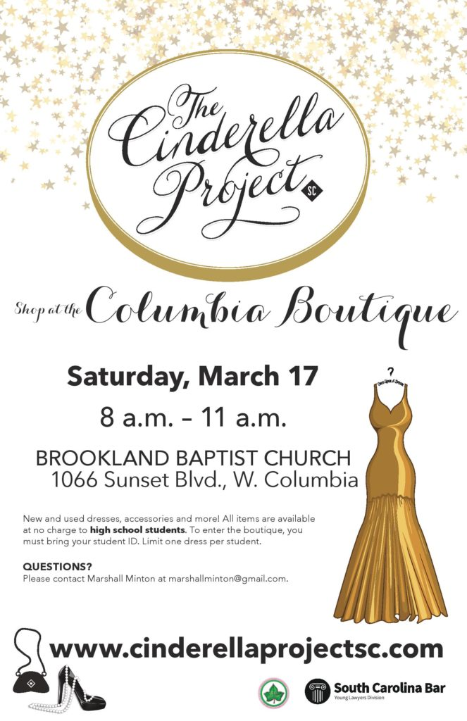 The Cinderella Project-Columbia Boutique @ Brookland Baptist Church | West Columbia | South Carolina | United States