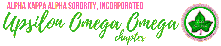 Alpha Kappa Alpha Sorority, Incorporated – Upsilon Omega Omega Chapter